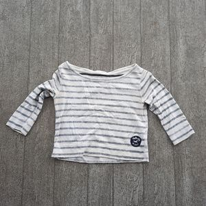 Hollister cropped summer sweater xs